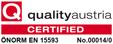 Zertifikat Quality Austria